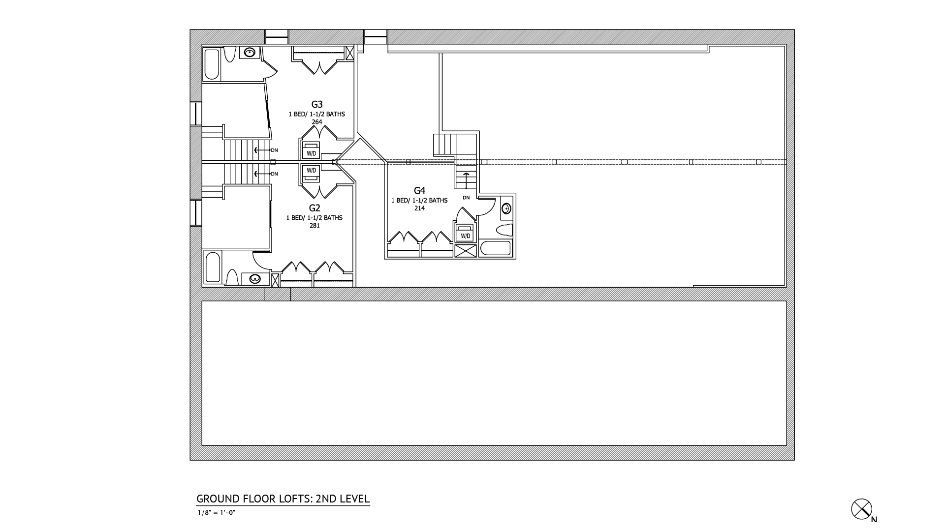 Loft apartment floor plan